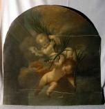 Strigelli V. (1764), Angioletti ritagliati dal dipinto Strage degli Innocenti
