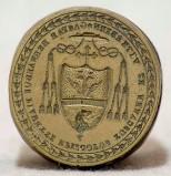 Bottega italiana sec. XIX, Sigillo del cardinale Gaspare Bernardo Pianetti 1/5