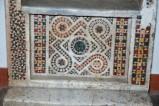 Ambito romano sec. XIII, Lastra frontale di cattedra