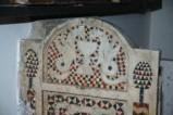 Ambito romano sec. XIII, Lastra superiore sinistra di cattedra
