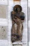 Barbieri F. (1932), Statua di S. Luca