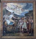 Ambito italiano (1816), Dipinto murale di Genserico e Maiorio