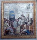 Ambito italiano (1816), Dipinto murale della predica di San Getulio
