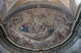 Ambito italiano (1816), Dipinto murale della Trinità e la Madonna