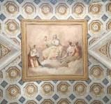 Ambito italiano (1816), Dipinto murale della Fede e sante
