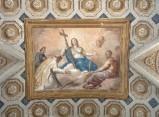 Ambito italiano (1816), Dipinto murale della Religione e santi