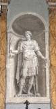 Ambito italiano sec. XIX, Dipinto murale di Sant'Amanzio