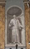 Ambito italiano sec. XIX, Dipinto murale di San Cleto