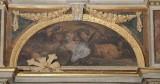 Lucatelli P. sec. XVII, Dipinto di cherubini con palma