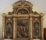 Lucatelli P. sec. XVII, Polittico di Sant'Andrea condotto al martirio