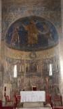 Ambito laziale sec. XIII, Dipinto murale di Traditio Legis