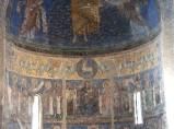 Ambito laziale sec. XIII, Dipinto murale di Agnus Dei