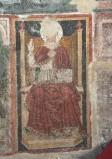 Ambito laziale sec. XIII, Dipinto murale di San Gregorio Magno