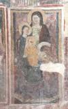 Ambito laziale sec. XIII, Dipinto di Sant'Anna con la Madonna e Gesù Bambino