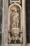 Agnesini F. (1639-1640), Statua marmorea di San Rocco