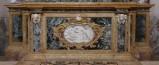 Ambito bergamasco sec. XVIII, Mensa d'altare in marmo