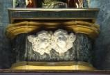 Ambito bergamasco sec. XVIII, Basamento di statua in marmo
