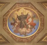 Brighenti G.-Fasciotti G. metà sec. XIX, Sant'Antonio da Padova in gloria
