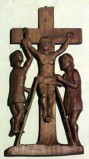 Varischetti G. (1984), Via Crucis stazione XI