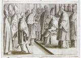 Ambito romano (1595), Benedizione e incoronazione della regina 1/11