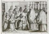 Ambito romano (1595), Benedizione della badessa 1/5