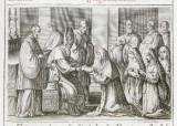 Ambito romano (1595), Benedizione della badessa 3/5