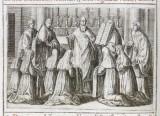 Lauro G. (1595), Benedizione della badessa e consacrazione delle vergini