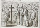 Ambito romano (1595), Benedizione della prima pietra di una chiesa 3/5