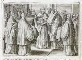 Ambito romano (1595), Benedizione delle suppellettili di una chiesa