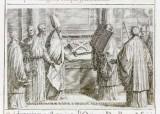 Ambito romano (1595), Benedizione della nuova croce 1/2