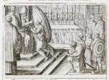 Ambito romano (1595), Benedizione del vessillo di guerra