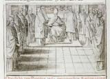 Ambito romano (1595), Scomunica e assoluzione 1/2