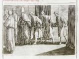 Ambito romano (1595), Accoglienza dei prelati e degli ambasciatori