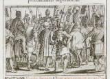 Ambito romano (1595), Accoglienza dell'imperatore in processione