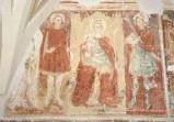 Ambito bergamasco sec. XV, Madonna con Gesù e Santi
