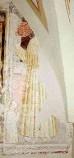 Ambito bergamasco sec. XV, San Bernardino e devoto