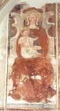 Ambito bergamasco sec. XV, Madonna con Gesù Bambino 2/3