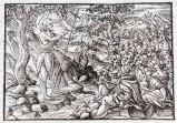 Ambito tedesco seconda metà sec. XVI, San Giovanni Battista predica