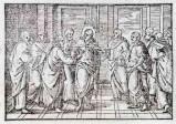 Ambito tedesco seconda metà sec. XVI, Incredulità di San Tommaso