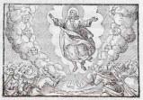 Ambito tedesco seconda metà sec. XVI, Ascensione di Gesù Cristo