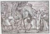 Ambito tedesco seconda metà sec. XVI, Entrata di Gesù Cristo