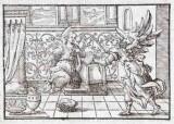 Ambito tedesco seconda metà sec. XVI, Annunciazione