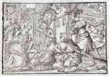 Ambito tedesco seconda metà sec. XVI, Adorazione dei pastori
