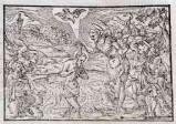 Ambito tedesco seconda metà sec. XVI, Battesimo di Gesù Cristo