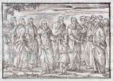 Ambito tedesco seconda metà sec. XVI, Gesù Cristo esalta l'innocenza