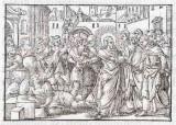 Ambito tedesco seconda metà sec. XVI, Gesù Cristo guarisce l'indemoniato