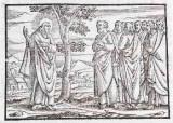 Ambito tedesco seconda metà sec. XVI, Gesù Cristo e gli apostoli