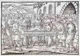 Ambito tedesco seconda metà sec. XVI, Gesù Cristo resuscita il figlio