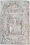 Ambito tedesco seconda metà sec. XVI, Gesù Cristo risorto e santi