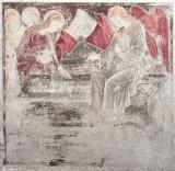 Borlone G. e bottega (1470), Angelo e le pie donne